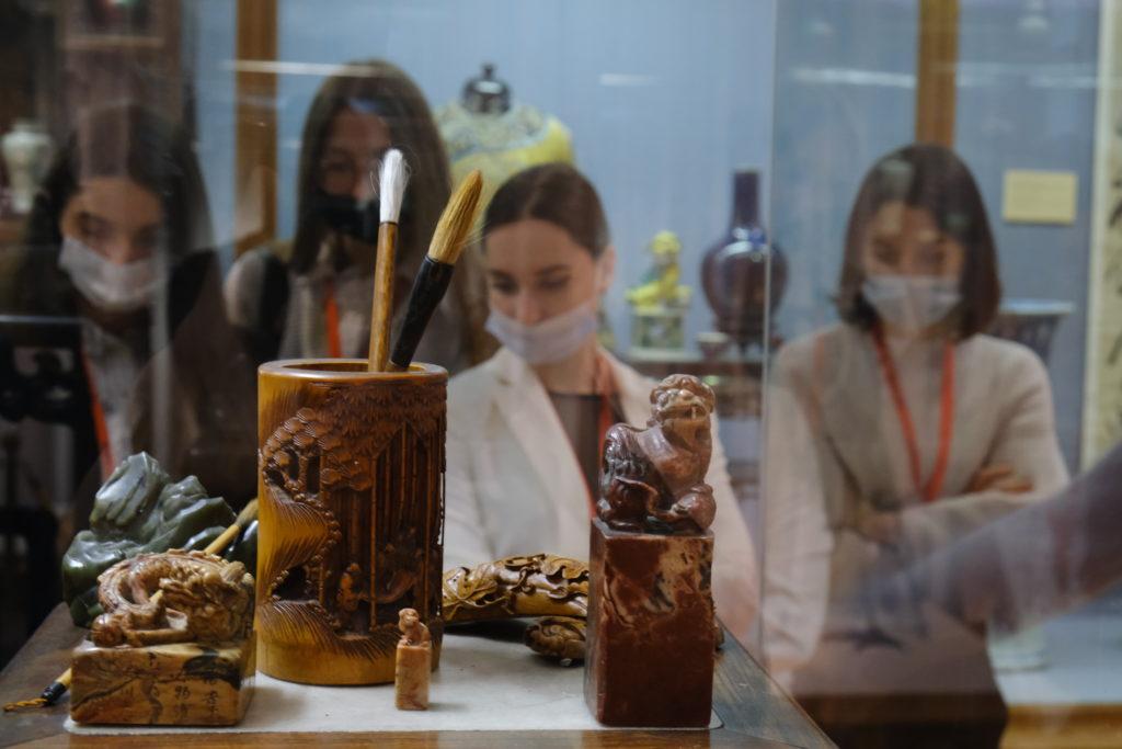 Стажеры Минкультуры России посетили Музей Востока