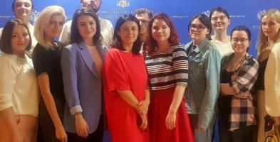 В Министерстве культуры Российской Федерации завершается цикл лекций для участников Стажерской программы.